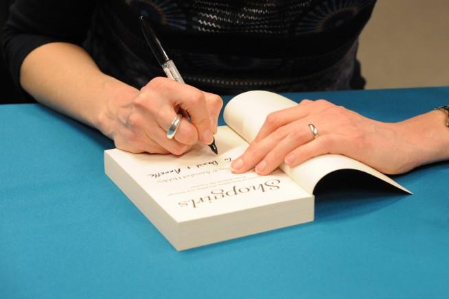 EBF 2015 Pam Cox signing