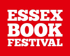Essex Book Festival - No Date - White on Red