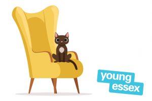 Popup storytelling armchair