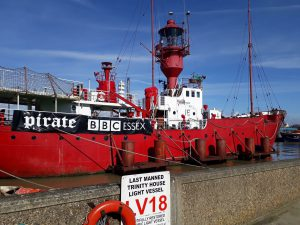 Image of LV18 in Harwich Harbour