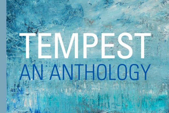 A cropped image of the front cover of Tempest