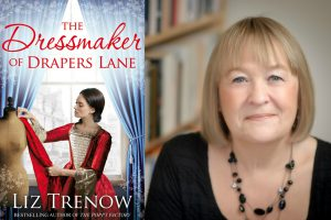 A photo of author Liz Trenow and her new book