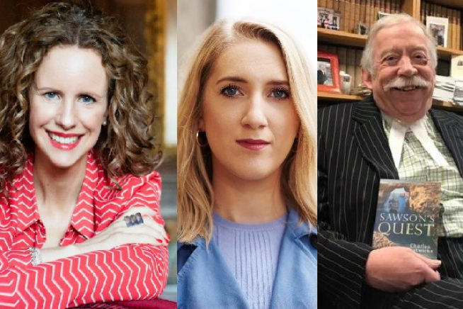 Authors who are talking at Foyles in Chelmsford this March