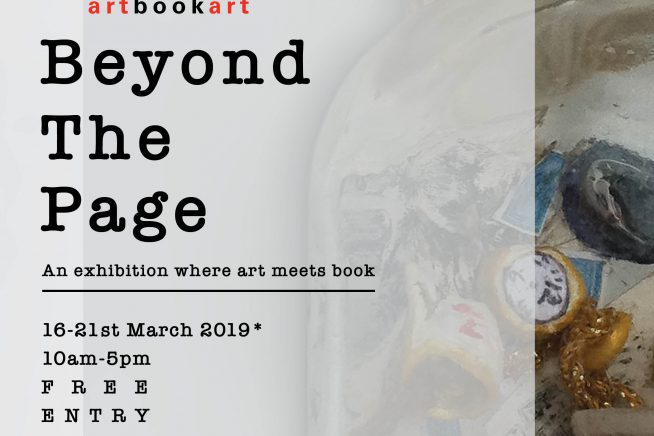 Poster for Artbookart exhibition