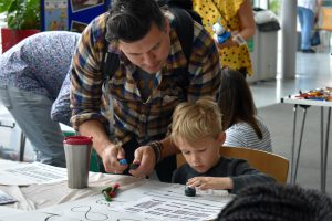 Image of children at our Science & Imagination Day