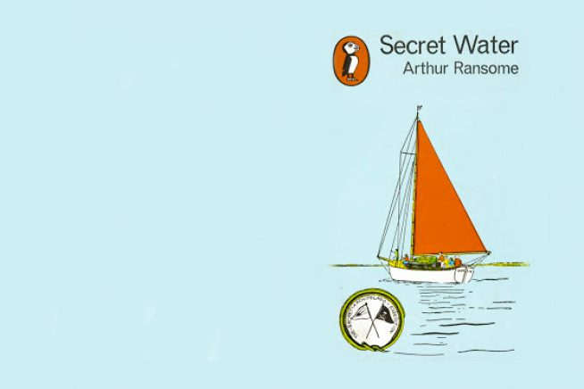 A picture of the cover of Arthur Ransome's Secret Water