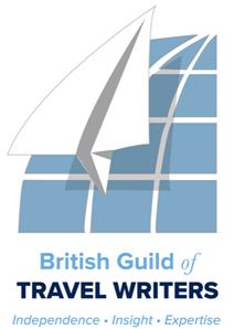 British Guild Travel Writers logo