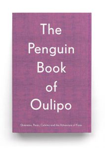 Penguin Book of Oulipo cover