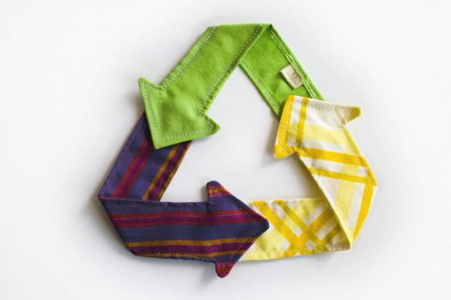 Recycle Triangle Cloth
