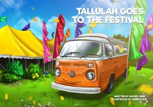Tallulah Goes to the Festival cover