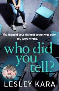 Who Did You Tell Book Cover