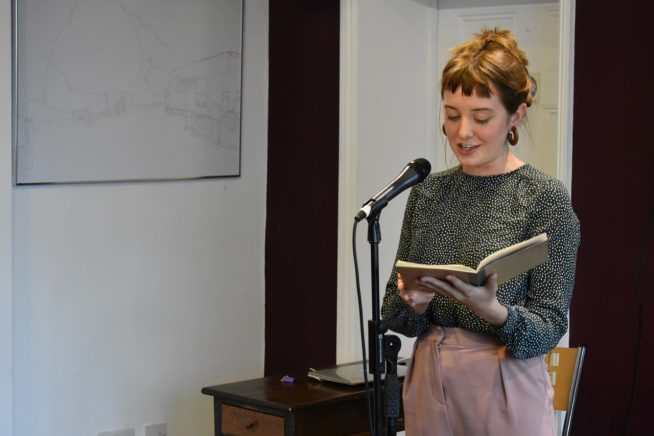 Martha at Writers House