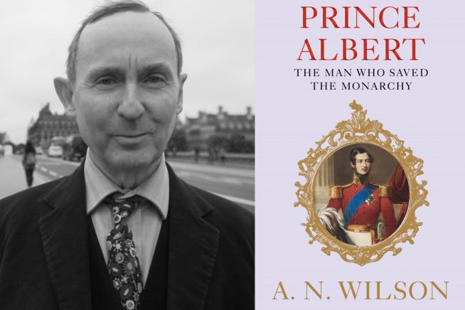 AN Wilson and Prince Albert cover