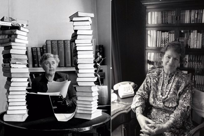 Agatha Christie and PD James