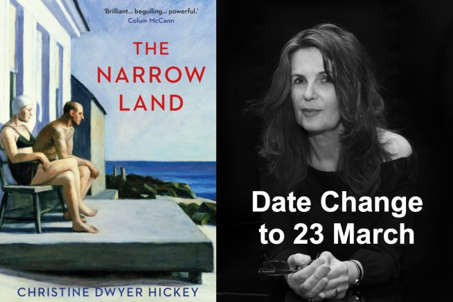 Christine Dwyer Hickey and cover - date change