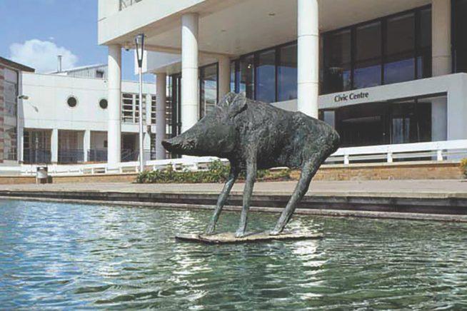 Harlow Elizabeth Frink Sculpture