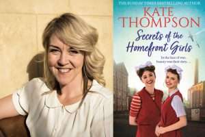 Kate Thompson and Secrets of Homefront Girls cover