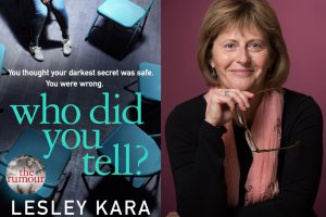Lesley Kara and Who Did you Tell cover