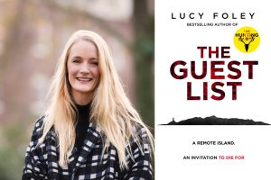 Lucy Foley and cover