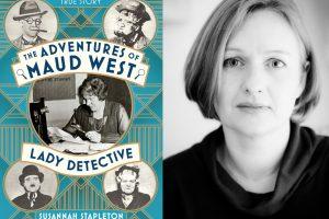 Susannah Stapleton and book cover